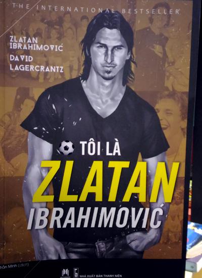Bìa sách Tôi là Zlatan Ibarahimovic.