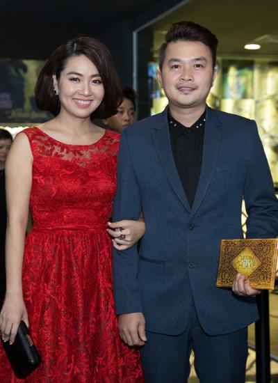 Vợ chồng diễn viên Lê Khánh.