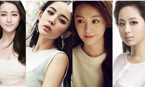 Bốn tiểu hoa đán 9X của làng giải trí Hoa ngữ