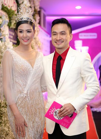 Diễn viên Chi Bảo (phải).