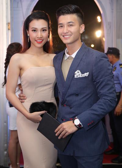 MC Hoàng Oanh và bạn trai - diễn viên Huỳnh Anh.