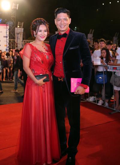Vợ chồng MC Bình Minh - Anh Thơ.