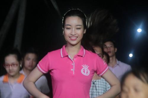 Hình ảnh mộc mạc của Mỹ Linh trong dự án Người đẹp nhân ái thuộc khuôn khổ cuộc thi Hoa hậu Việt Nam 2016.