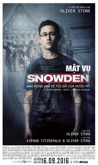 Poster phim Snowden.