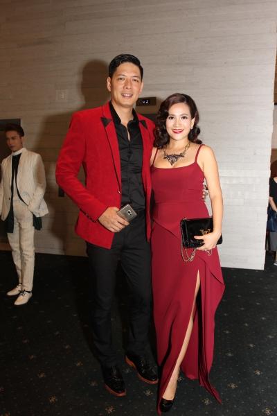 Vợ chồng MC, diễn viên Bình Minh