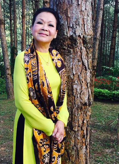 Ca sĩ Khánh Ly đang có đêm nhạc ở thành phố Đà Lạt