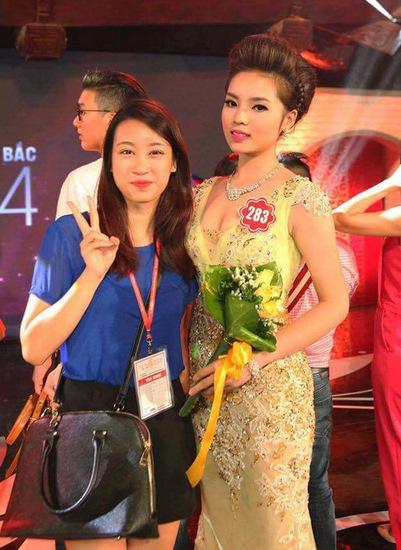 Tân Hoa hậu từng đi cổ vũ cho Kỳ Duyên trong vòng