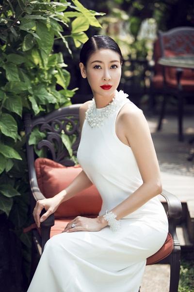 Hoa hậu Hà Kiều Anh. Ảnh: Quốc Huy