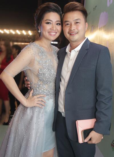 Anh xuất hiện tại sự kiện để ủng hộ bộ phim hài - lãng mạn do Lê Khánh đóng vai chính, dù bản thân không tham gia vào phim.