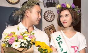 Thúy Vân khóc khi bạn trai thiếu gia xuất hiện trong tiệc sinh nhật