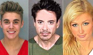 Những sao Hollywood từng bị bắt
