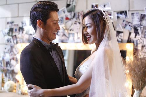 Chuyện tình của hai nhân vật do Huy Khánh và Maya diễn là