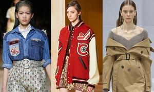 6 kiểu áo khoác được 'cuồng' nhất Thu 2016
