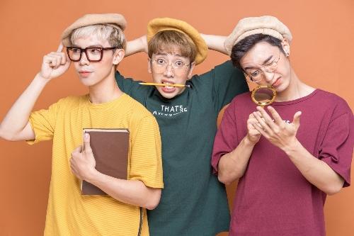 Nhóm Monstar gồm ba chàng trai: