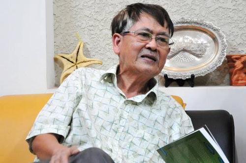Nhà văn Lê Văn Thảo.