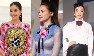 Lỗi trang phục của 9 fashionista trong showbiz Việt