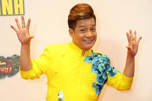 Minh Nhí trong buổi ra mắt chương trình ngày 28/10.