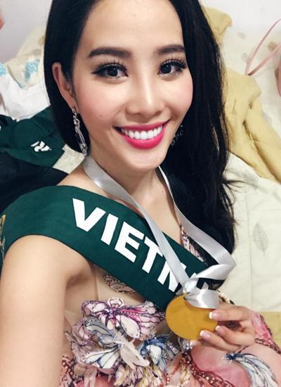 Nam Em đoạt huy chuơng bạc phần thi tài năng với tiết mục hát You raise me up. Đây là huy chương đầu tiên của một đại diện Việt Nam giành được trong phần thi phụ tại cuộc thi Hoa hậu Trái đất.