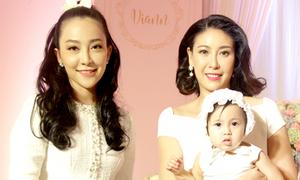 Dàn sao Việt dự lễ thôi nôi của con gái Hà Kiều Anh