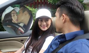 Trương Thế Vinh hôn bạn gái cũ của Khương Ngọc trong phim