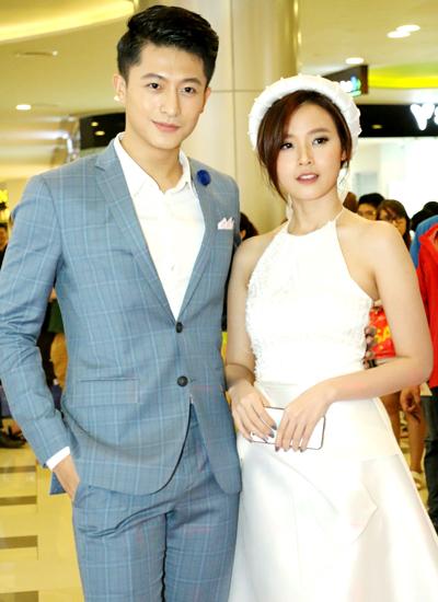 Diễn viên Harry Lu (trái)