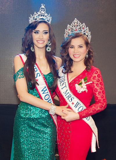 Kim Hồng nằm trong ban giám khảo của cuộc thi Hoa hậu Quý bà Thế giới năm nay.