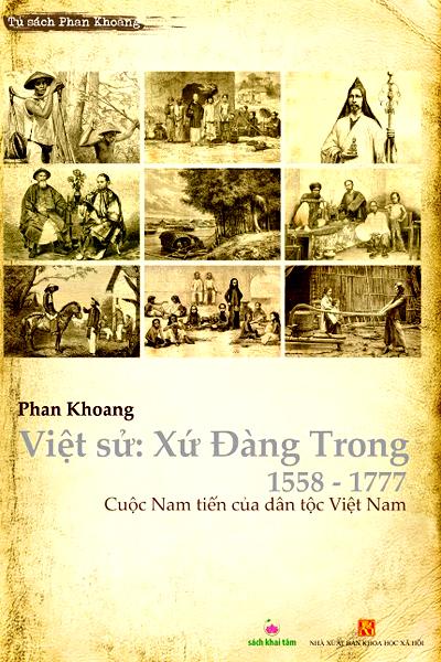 Bìa sách Việt sử: Xứ Đàng Trong