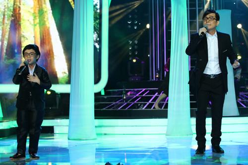 Ca sĩ Vũ Hà và bé Mai Chi được các giám khảo như Hoài Linh, Hồng Vân nhận xét là
