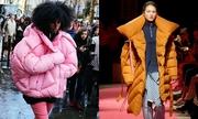 Mốt áo phao khổng lồ lên ngôi ở mùa lạnh 2016