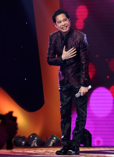 Trong chương trình mới, Ngọc Sơn cùng năm giọng ca gạo cội khác như Nghệ sĩ Ưu tú Quang Lý, ca sĩ Hồng