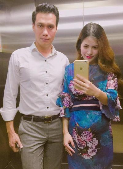 Việt Anh và bà xã đang chuẩn bị đón con đầu lòng vào năm sau.