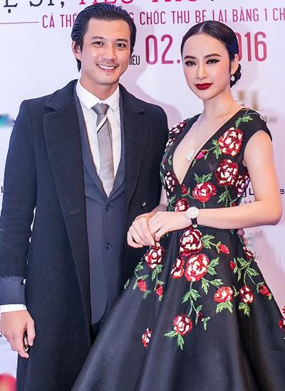 Cô hội ngộ Hà Việt Dũng - diễn viên đóng vai phản diện trong bộ phim.