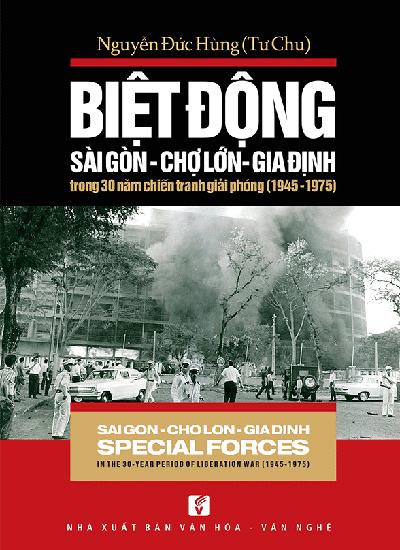 Bìa sách Biệt động Sài Gòn.