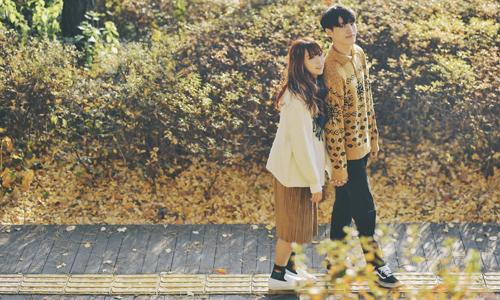 Loạt hình với nhiều cử chỉ tình cảm, lãng mạn được MIN và Choi Min Soo thực hiện trong quá trình làm việc chung trong dự án MV Gọi tên em tại Hàn Quốc.