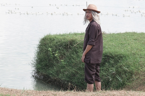 Vai diễn mới của Hoài Linh là một ông già đành hanh, khó tính.