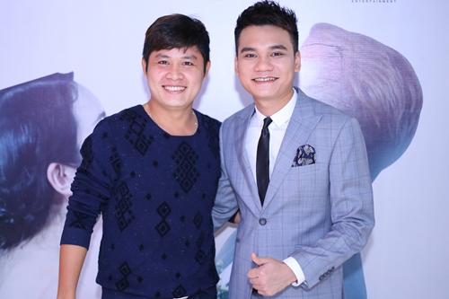 Nhạc sĩ Nguyễn Văn Chung và Khắc Việt từng kết hợp trong nhiều sản phẩm âm nhạc.