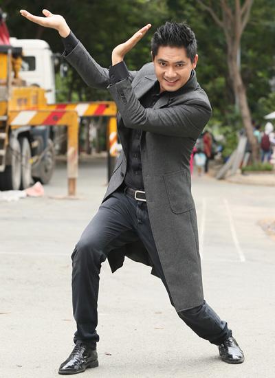 Diễn viên Minh Luân trong vai đại gia thứ năm. Phim dự kiến công chiếu ngày 27/1.