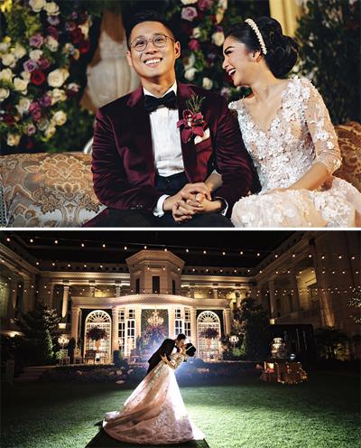 Junior Liem - tài tử hàng đầu Indonesia - kết hôn hồi tháng 5.