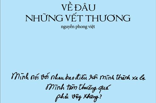 Bìa cuốn sách do nhà thiết kế Nguyễn Công Trí vẽ.