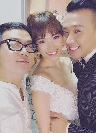 Hari Won, Trấn Thành và Chung Thanh Phong.