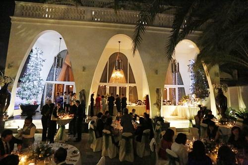 Giáng My tổ chức tiệc tối ngoài trời để thực khách tận hưởng không khí se lạnh của Sài Gòn cuối năm.