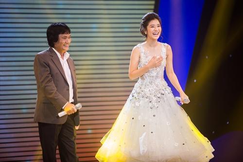 Cố Nghệ sĩ Ưu tú Quang Lý (trái)