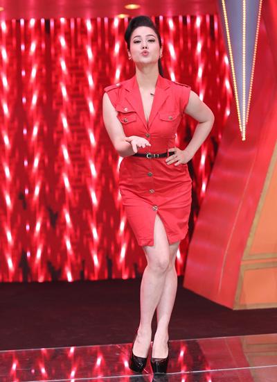Ca sĩ Nhật Kim Anh là khách mời chương trình. Cô