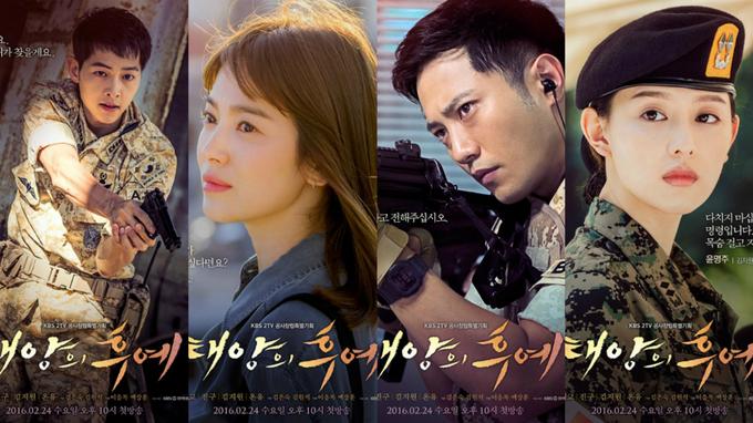 12 loạt phim truyền hình Hàn Quốc hot nhất 2016