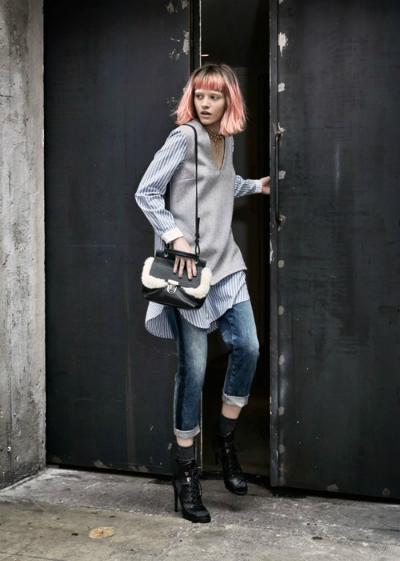 Sisley không ngừng mang đến cho giới mộ điệu những xu hướng thời trang cập nhật với các thiết kế hiện đại, hướng đến giới trẻ.
