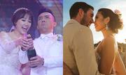 Khoảnh khắc hạnh phúc trong ngày cưới của sao Việt