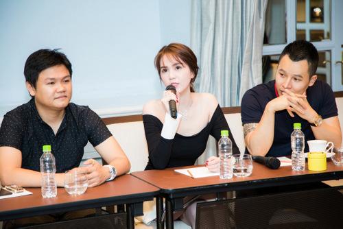 Ngọc Trinh cho biết ê-kíp sẽ mời những doanh nhân yêu thích sim số đẹp để đảm bảo buổi đấu giá thu về số tiền như mong đợi.