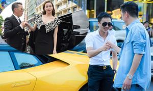 Cường 'Đôla' lái siêu xe đến quay MV cùng Đàm Vĩnh Hưng
