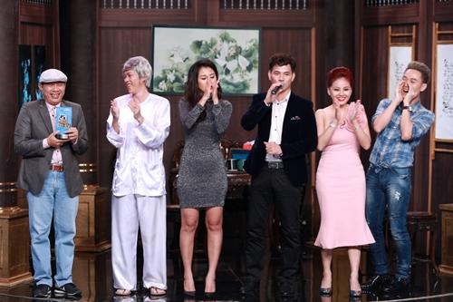 Trong tiết mục cuối với sự góp mặt của Hoài Linh và bốn nghệ sĩ khách mời, Trung Dân là người đoạt cúp chiến thắng của tuần