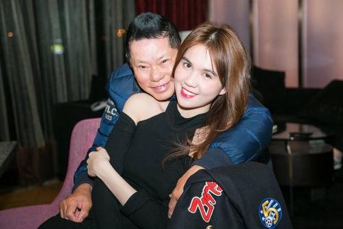 Hình ảnh mới nhất của Hoàng Kiều và Ngọc Trinh ở Thượng Hải.